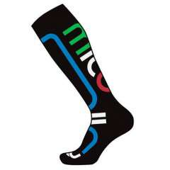 Горнолыжные носки MICO Performance Snowboard socks in Thermolite 461 (41-43, nero azzurro)